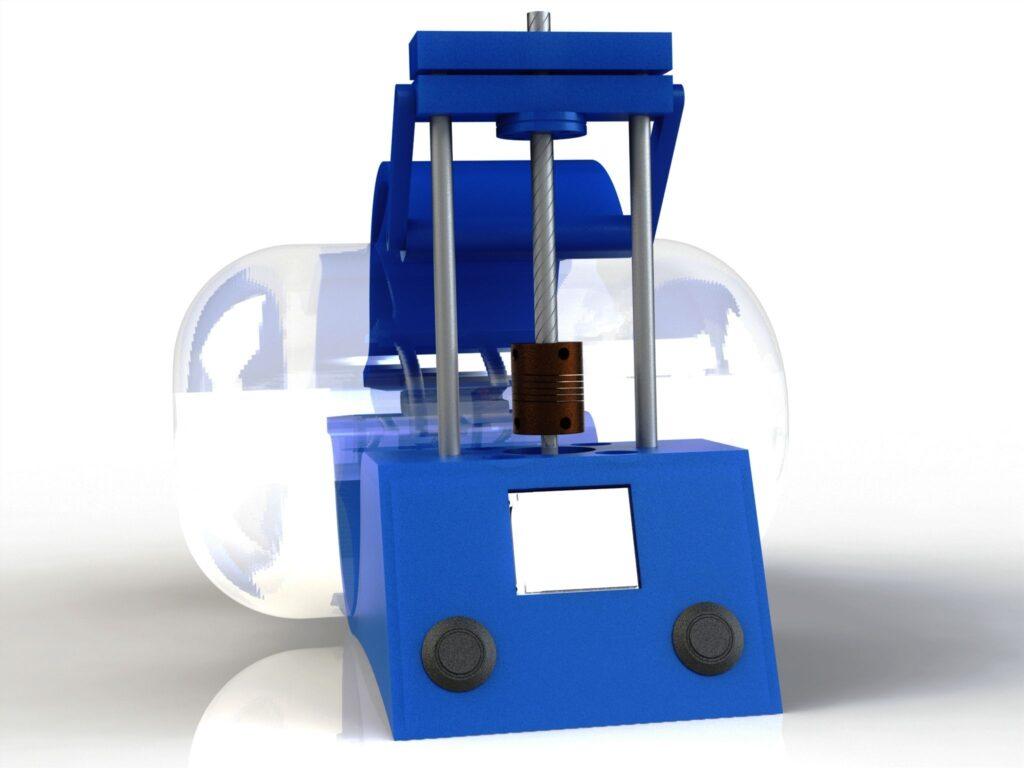 Mécanisme de ventilation automatique - Bureau d'études CAMCAD.fr