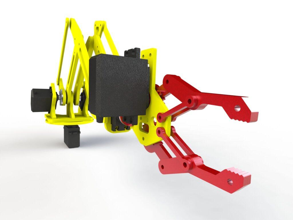 Manipulateur robotique - Bureau d'études CAMCAD.fr