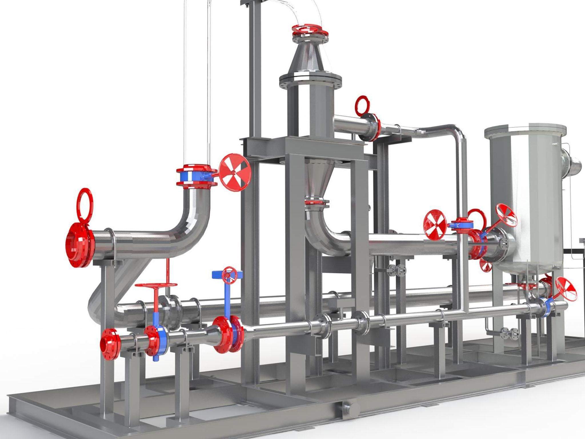 Système de dessablage cyclonique - Bureau d'études