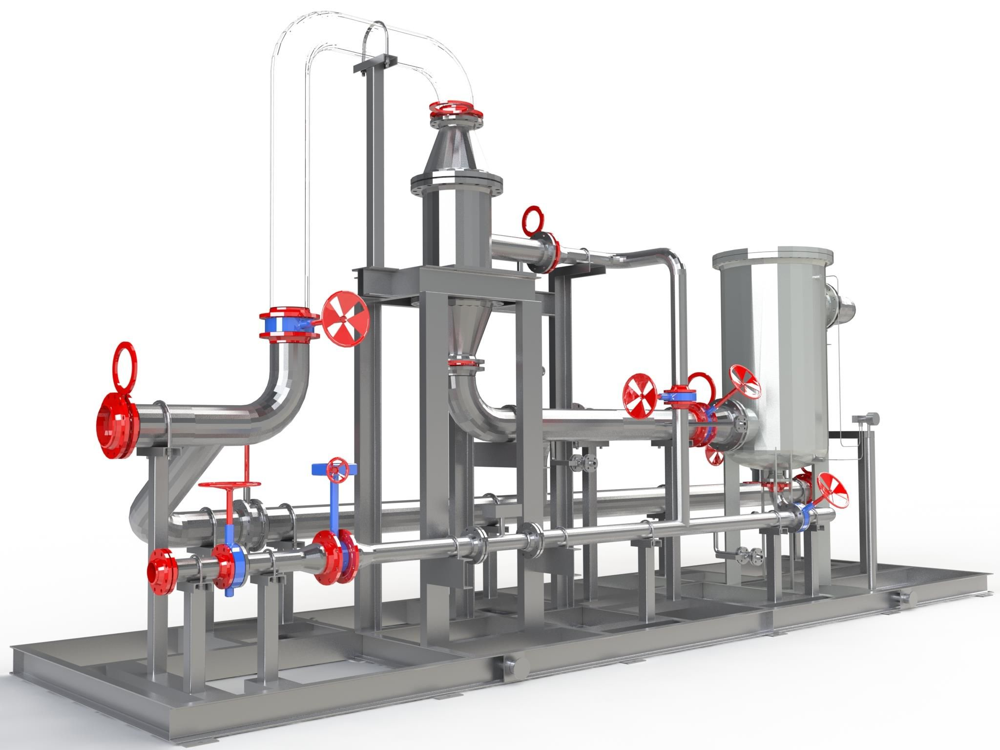 Système de dessablage cyclonique